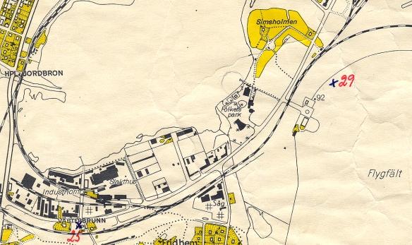 Den gula ekonomiska kartan från 1954.